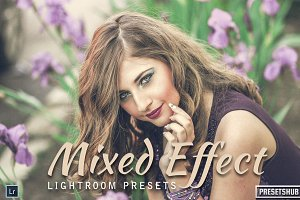 20 Mixed Effect Lightroom Presets