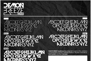 Devil Breeze Typeface