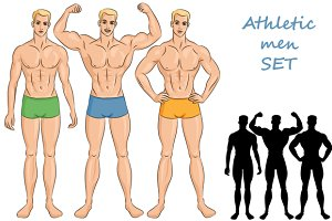 SET athletic men