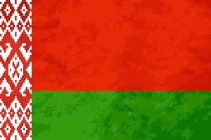 True proportions Belarus flag