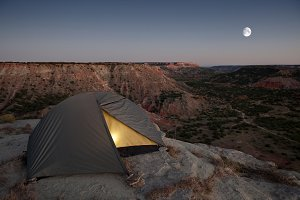 Camping at the Canyon.