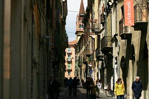 Street in Italy (Vertical)