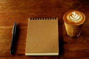 Writer stuff and Coffee