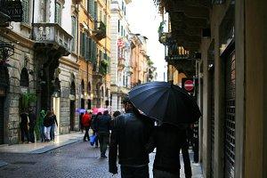 Rainy Day in Italy