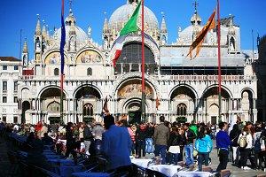 San Marco Piazza , Venice