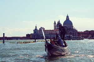 Gondola tour in Venice