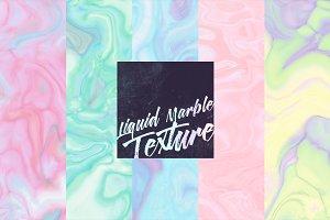 Liquid marble texture