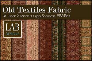28 Old Textiles Seamless Fabrics