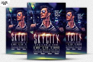 SKYCITY Flyer Template