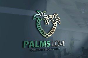 Palms Love Logo