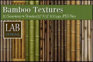 20 Bamboo Textures