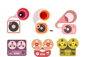 Gramophones and Tape Players