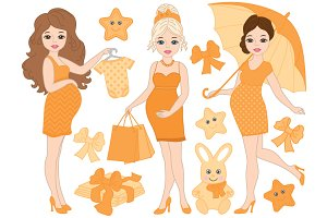 Pregnant Women Set