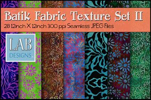 28 Seamless Batik Fabric Textures 2
