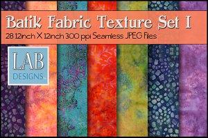 28 Seamless Batik Fabric Textures