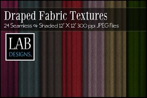 24 Draped Fabric Textures