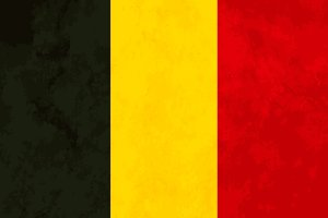 True proportions Belgium flag