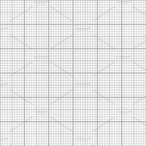 Gray graph grid on white