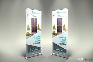 Real Estate Roll-Up Banner - SK