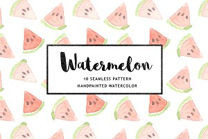 10 Watermelon Patterns