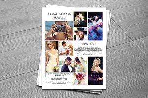 Photography Flyer Template-V270