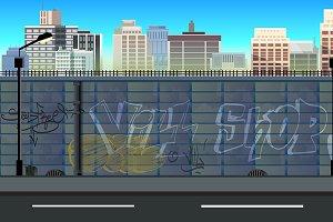 City 2d Background