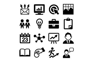Marketing and SEO Icons Set