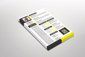 Yelloa Resume Template