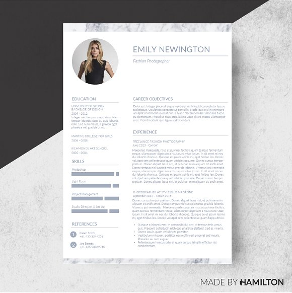 Marble resume templatebusiness card resume templates creative marble resume templatebusiness card resumes flashek Gallery