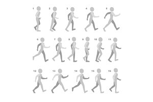 Phases of Step Movements