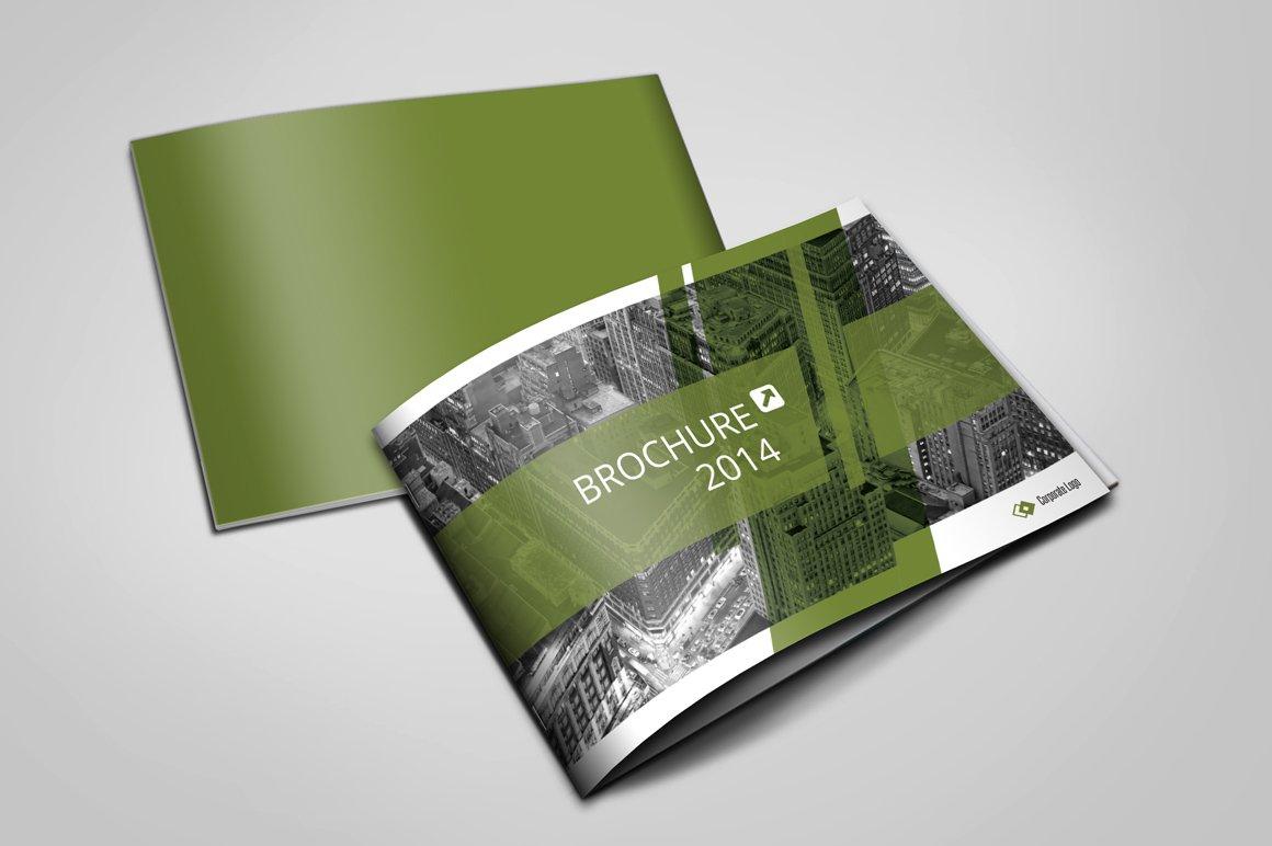modern brochure design - modern brochure a5 brochure templates creative market