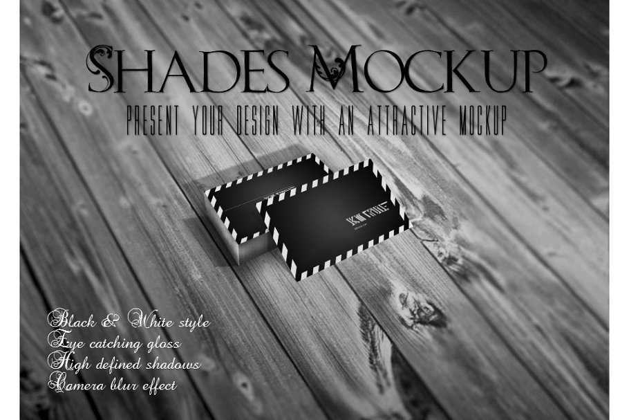 Shades Business card Mock up