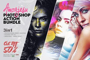 Amorjesu Photoshop Action Bundle