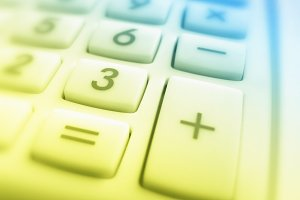 Calculator  key pad
