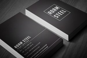 Simple Business Card 2 in 1
