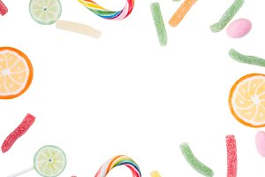 Lolly pops and candies