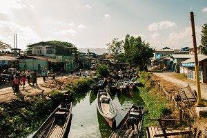 A Town in Myanmar
