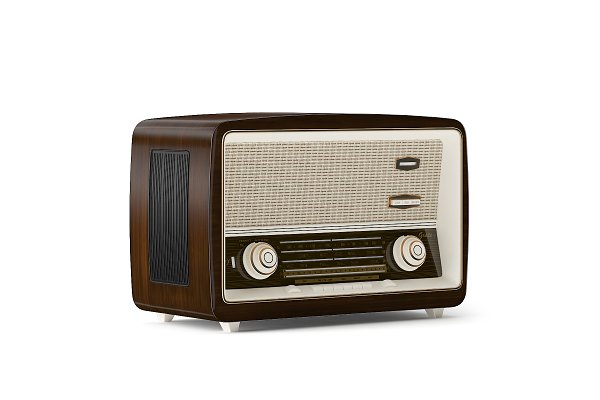 3D Electronics: CGAxis - Antique Radio