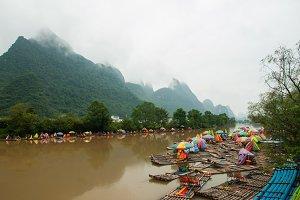 Yangshuo Bamboo River Rafting, IV