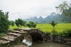 Stone Bridge in Yangshuo