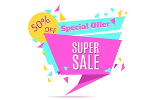 Super Sale Tag