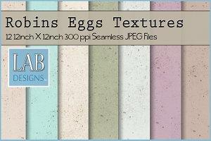 12 Robins Eggs Textures