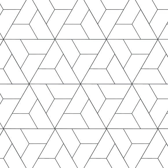 geometric patterns modern tiles graphic patterns creative market