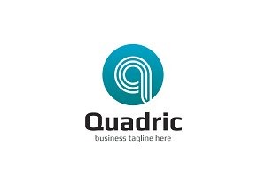 Quadric Letter Q Logo