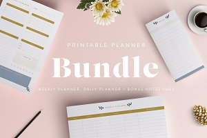 Printable Planner Bundle
