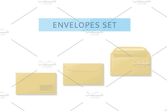 Envelope Set Open and Close