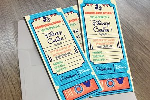 Disney Vintage Ticket