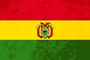 True proportions Bolivia flag