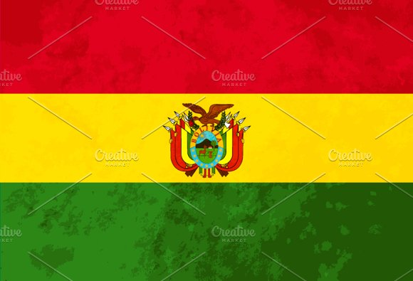 True proportions Bolivia flag