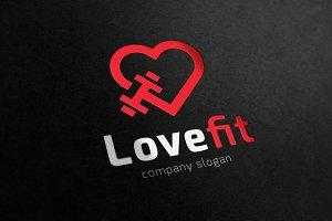 Love Fitness logo